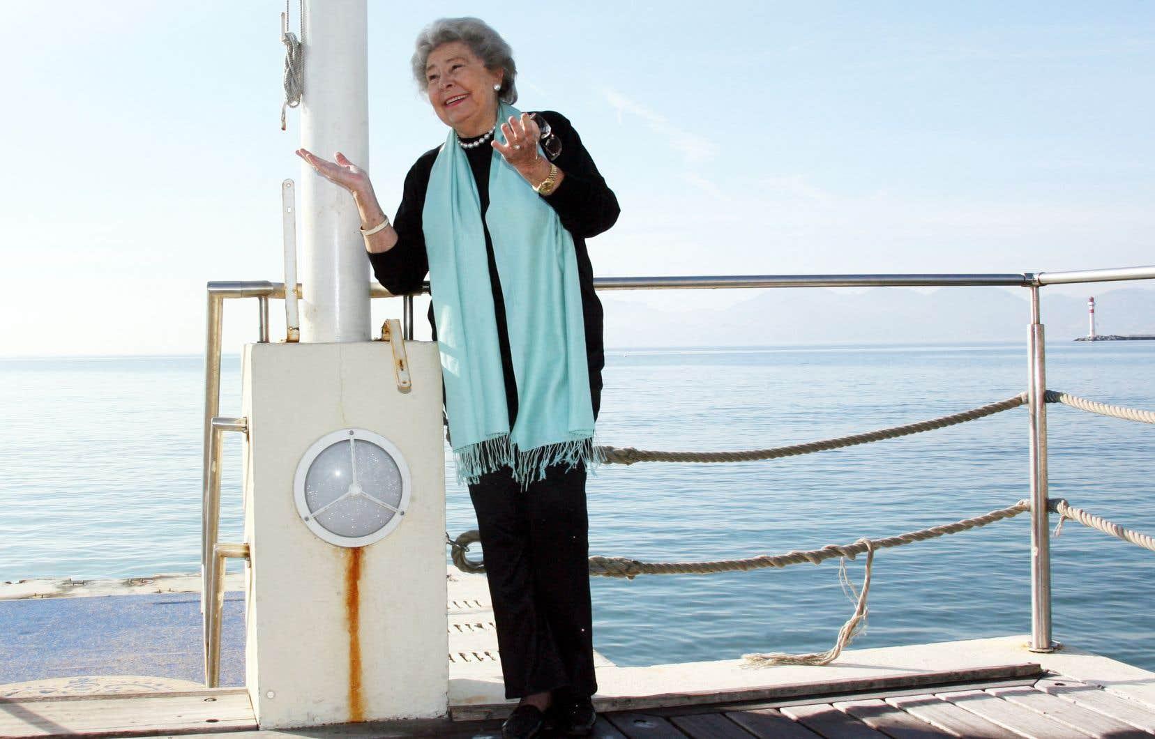 La mezzo-soprano Christa Ludwig en janvier 2008
