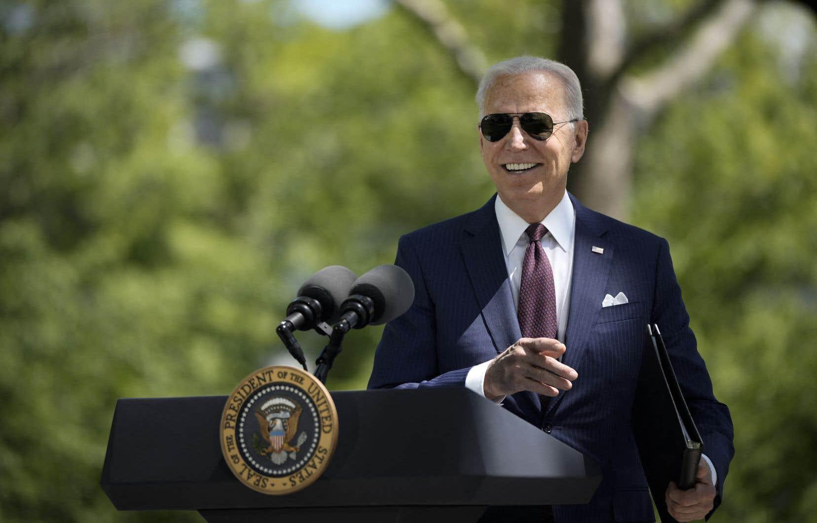 Après presque trois mois à la Maison-Blanche, Joe Biden jouit d'un taux d'approbation de 59% auprès des Américains, indiquait le 15avril dernier le Pew Research Center, ce qui le place à 20 points en avance sur Donald Trump au même moment dans sa présidence, en 2017.