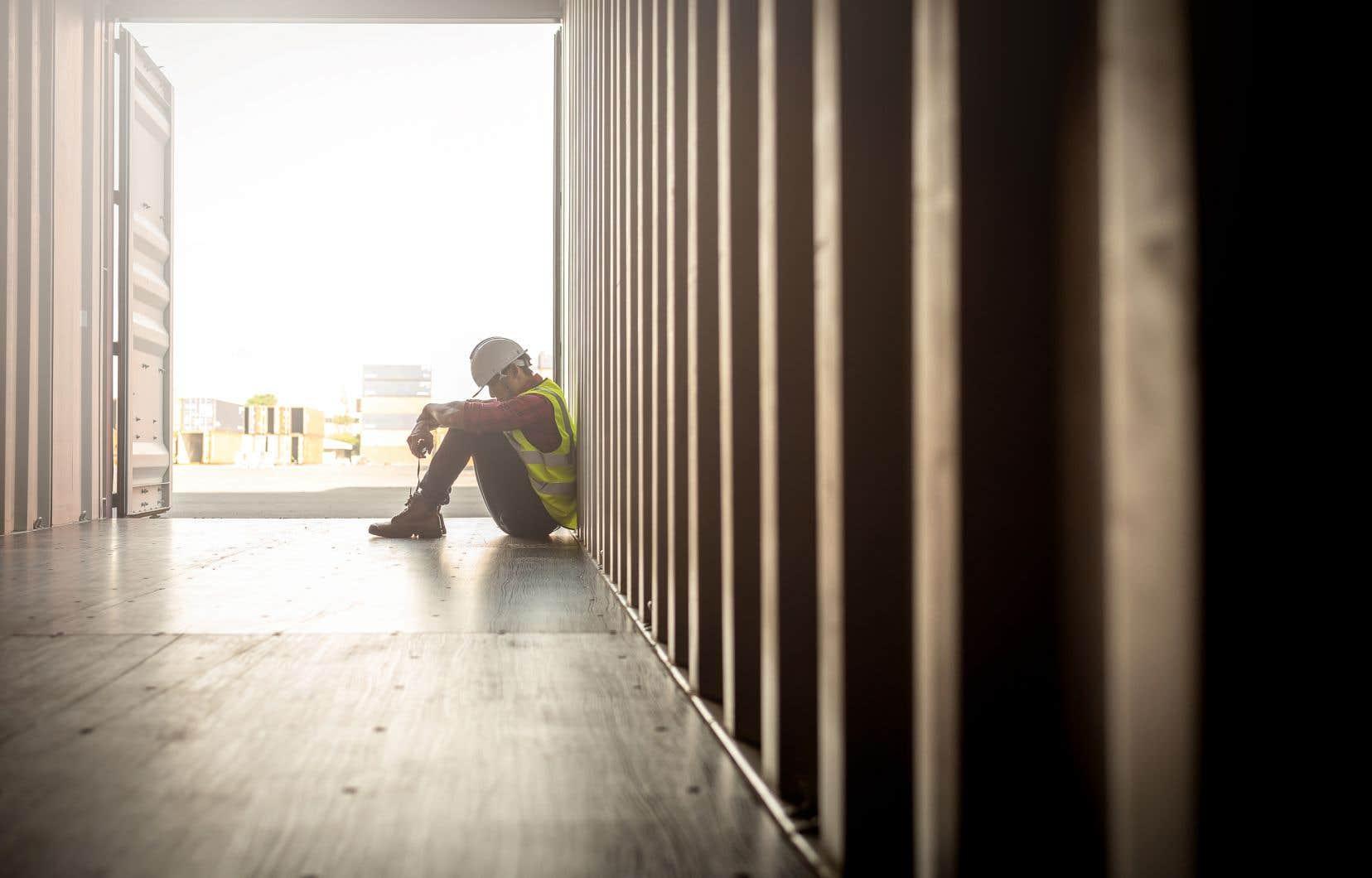 Selon le président de la centrale syndicale, la liste des maladies professionnelles devrait inclure des troubles mentaux comme la dépression et l'anxiété.