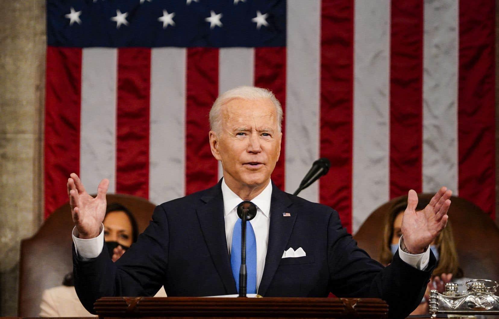 À la veille du cap symbolique de ses 100 jours au pouvoir, Joe Biden a décliné son «Projet pour les familles américaines», d'un montant total de près de 2000 milliards de dollars.