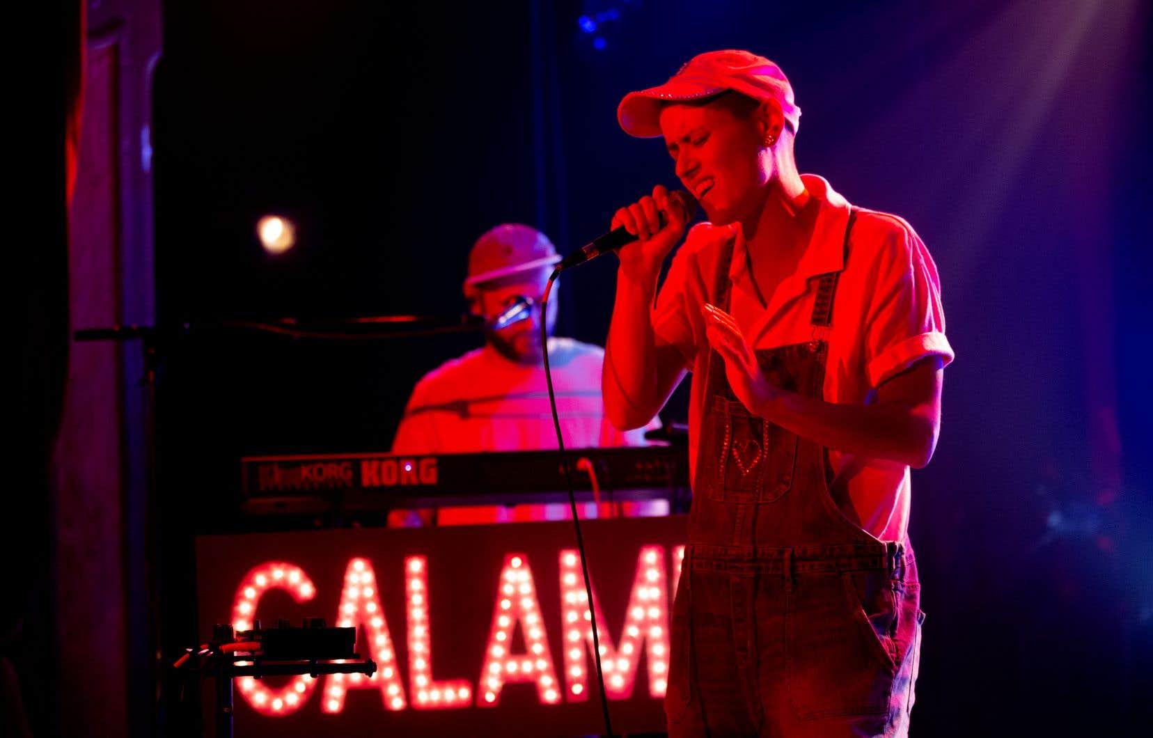 Calamine a encore épaté la galerie avec sa plume pertinente, son verbe allègre et son aisance sur scène.
