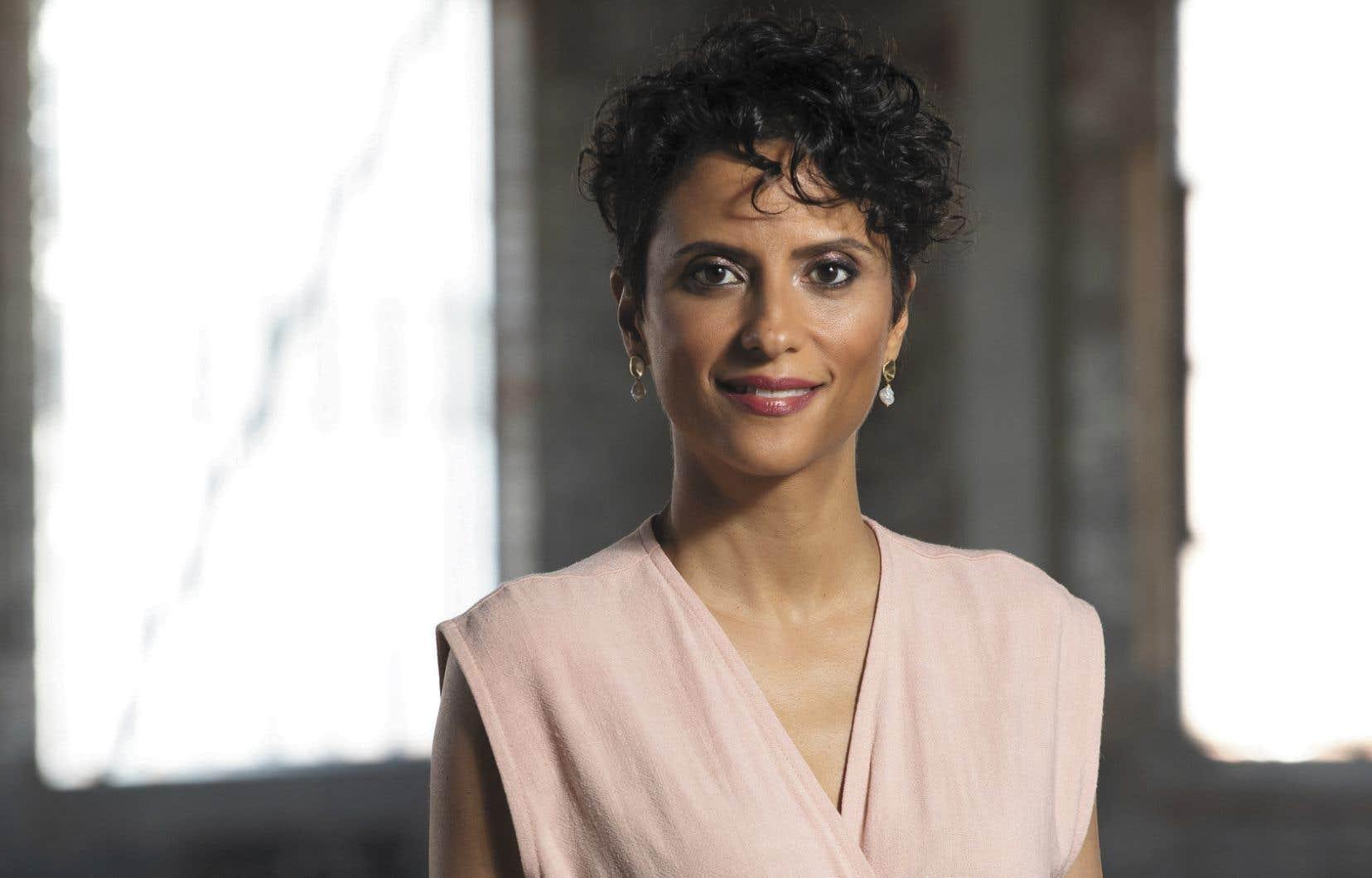 <p>Noémi Mercier, animatrice et curieuse en chef de <em>Kebec</em></p>