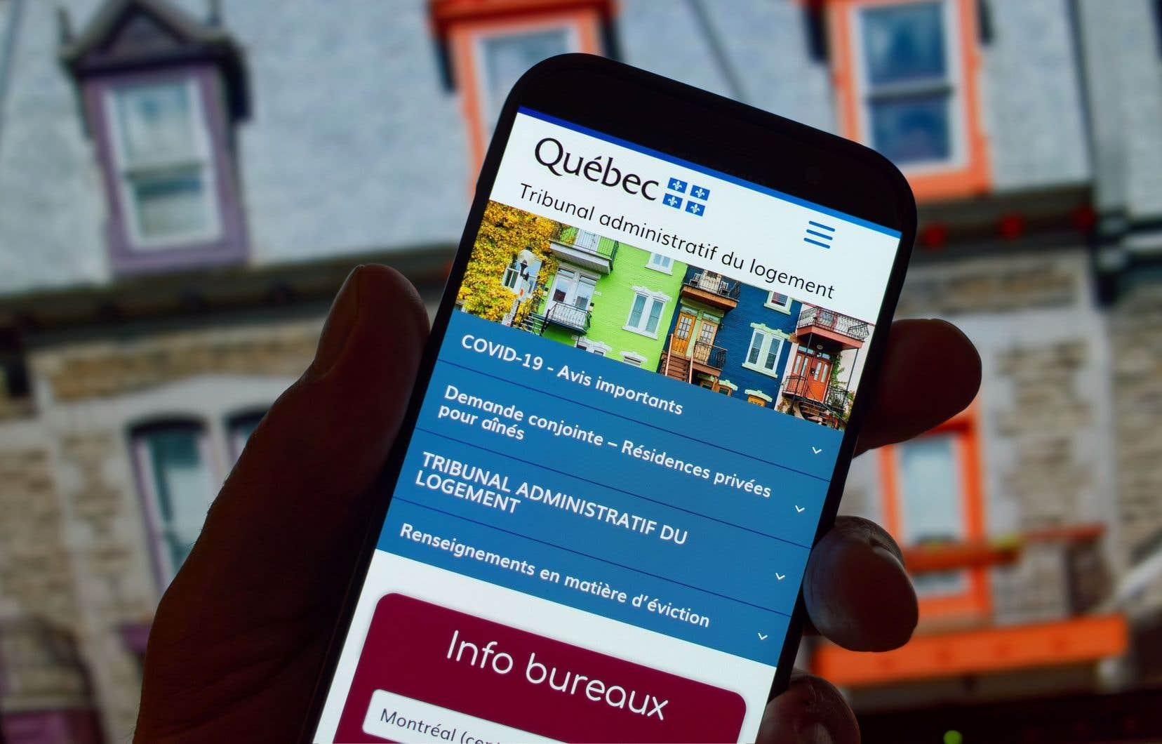 Joint par «Le Devoir», le Tribunal administratif du logement dit avoir pris la mesure de cette situation et s'engage à apporter des améliorations à son site Web afin d'empêcher un usage abusif.