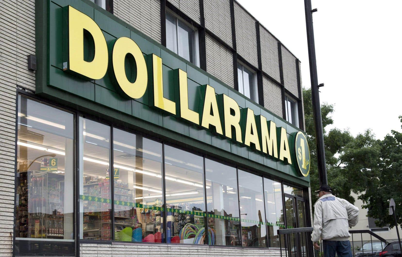 En dépit des restrictions sanitaires et de fermetures temporaires de magasins situés dans des centres commerciaux, Dollarama a vu ses ventes grimper de 6,3% à 4,03milliards l'an dernier.