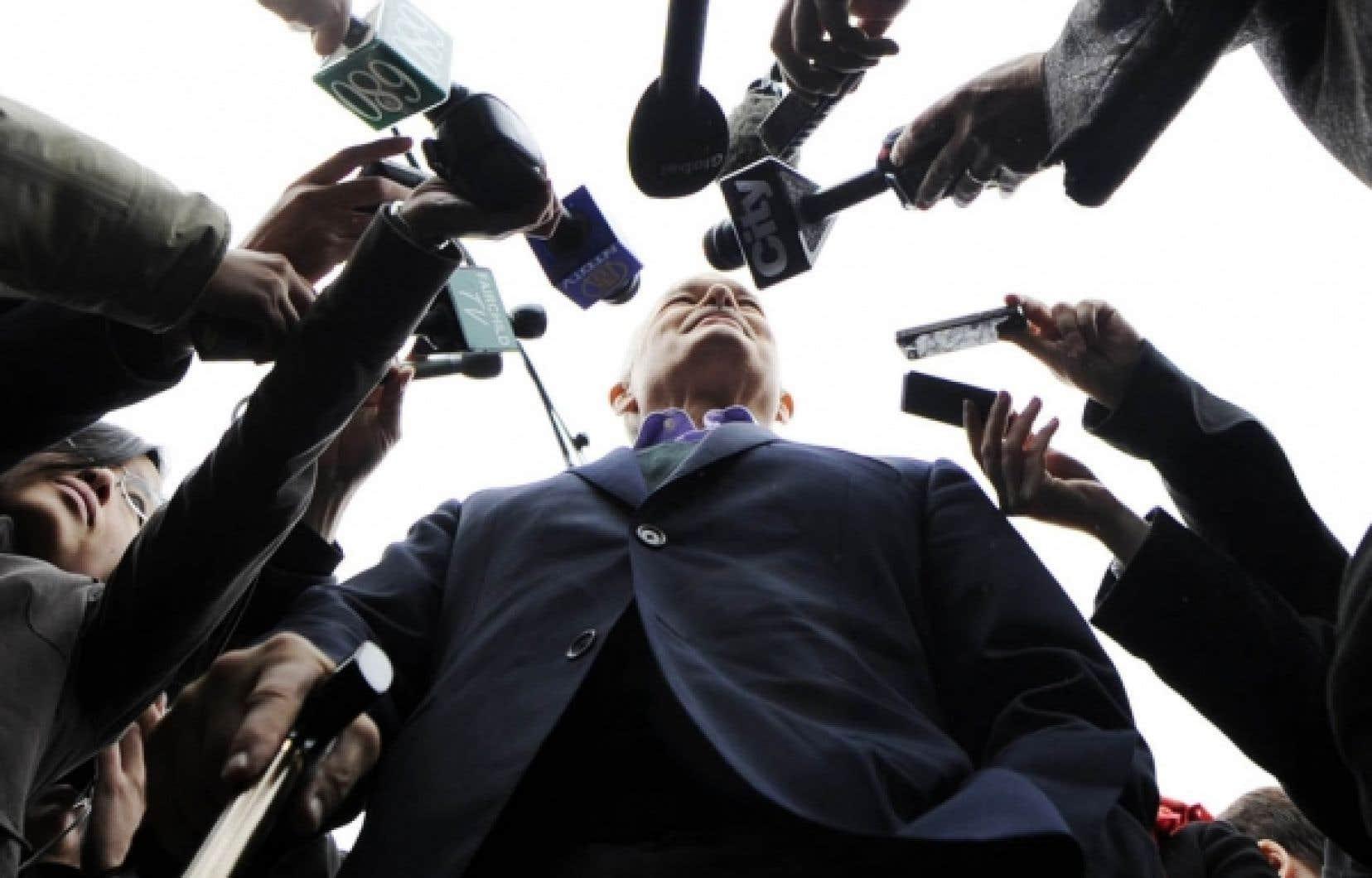 Les couvertures électorales des grands médias étaient en première ligne pour témoigner de l'étonnement envers la grande mutation politique.<br />