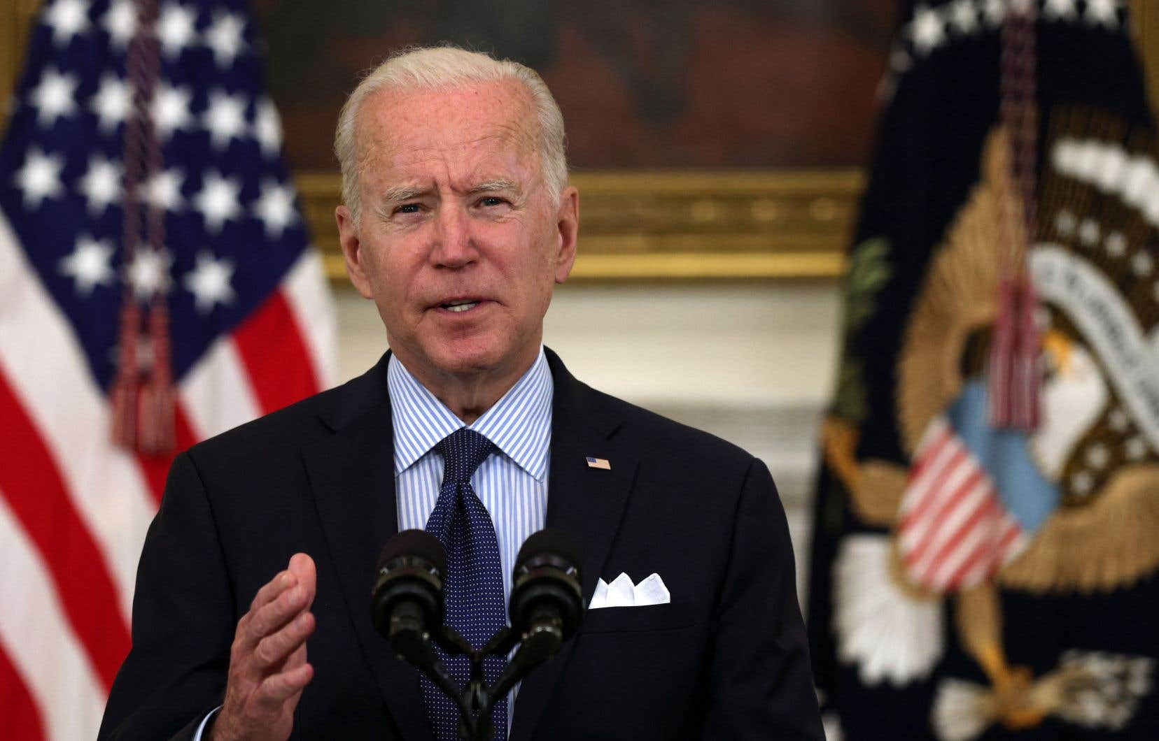 Mi-avril, Joe Biden avait proposé une rencontre à Vladimir Poutine, sur fond de vives tensions les deux puissances rivales.