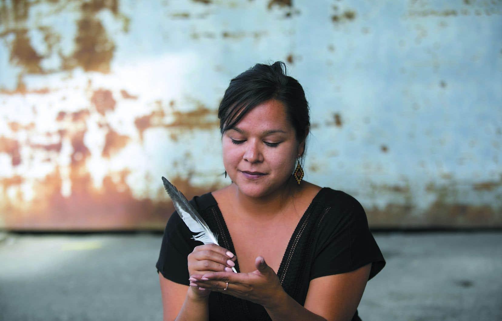 Naomi Fontaine se retrouve en finale avec quatre autres écrivaines dans la catégorie «Romans et nouvelles».