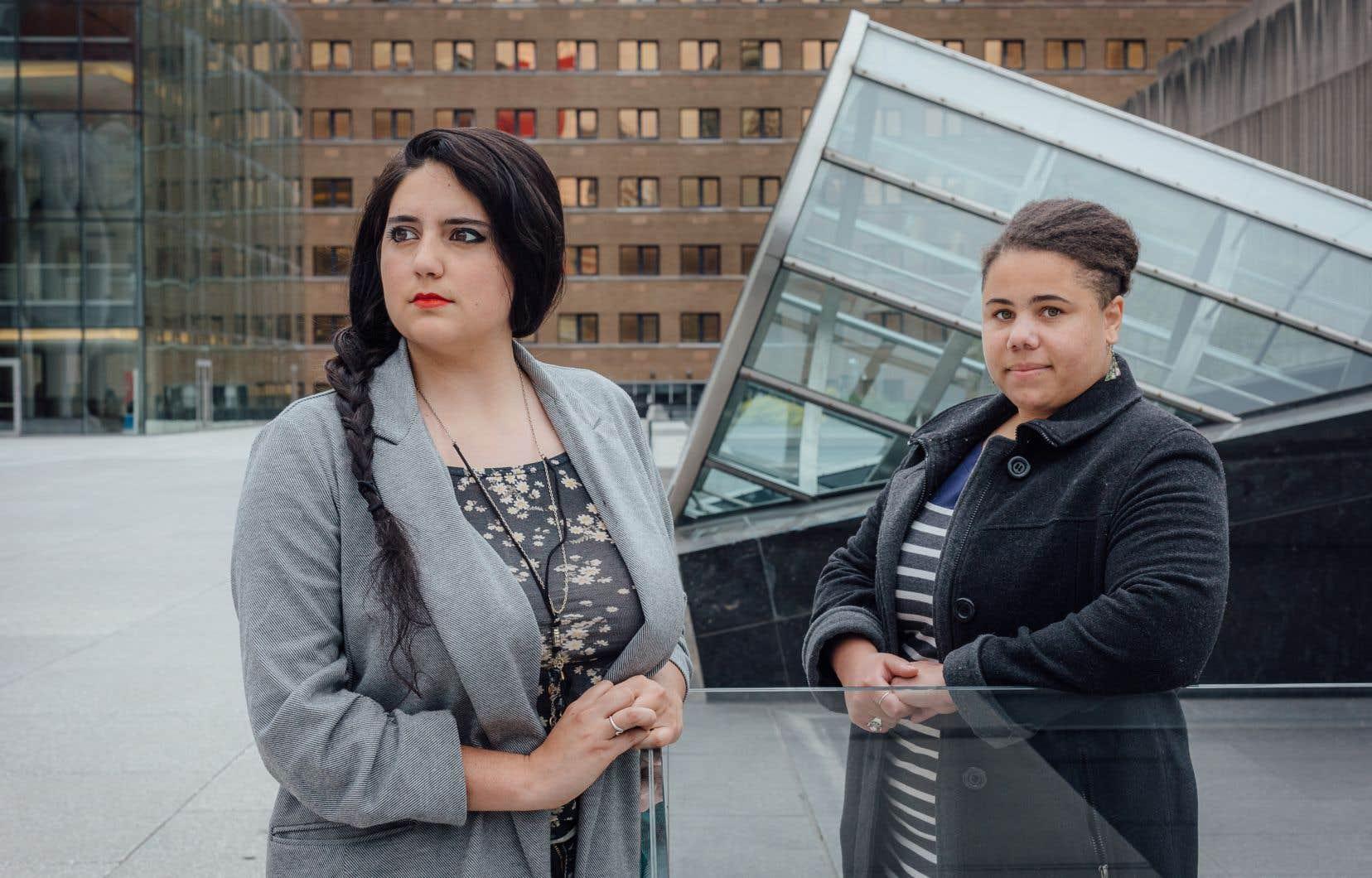 Mélanie Lemay et Alexandra Dupuy sont deux des personnes à l'origine de l'initiative sur Instagram pour donner la parole aux victimes de violences sexuelles ou racistes afin qu'elles expriment les conséquences liées àleur agression.