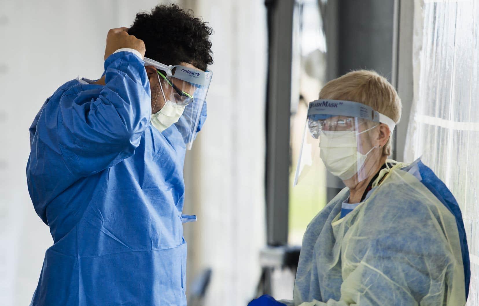 Globalement, c'est la charge de travail qui plombe la santé psychologique des travailleurs de la santé, observe Mariève Pelletier, conseillère scientifique spécialisée en santé au travail pour l'INSPQ.