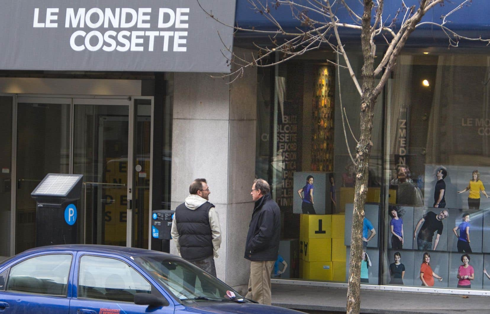 Une agence du groupe Cossette en 2009, à Montréal
