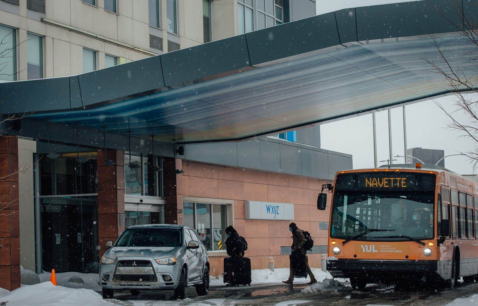 Depuis le 22 février, les voyageurs arrivant au Canada sont mis en quarantaine dans un des hôtels désignés.