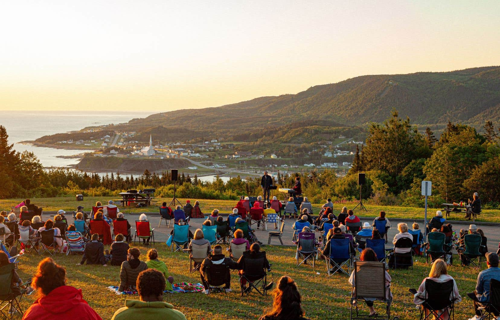 Le Festival en chanson de Petite-Vallée, en Gaspésie, s'attend à accueillir 70% moins de festivaliers cette année.