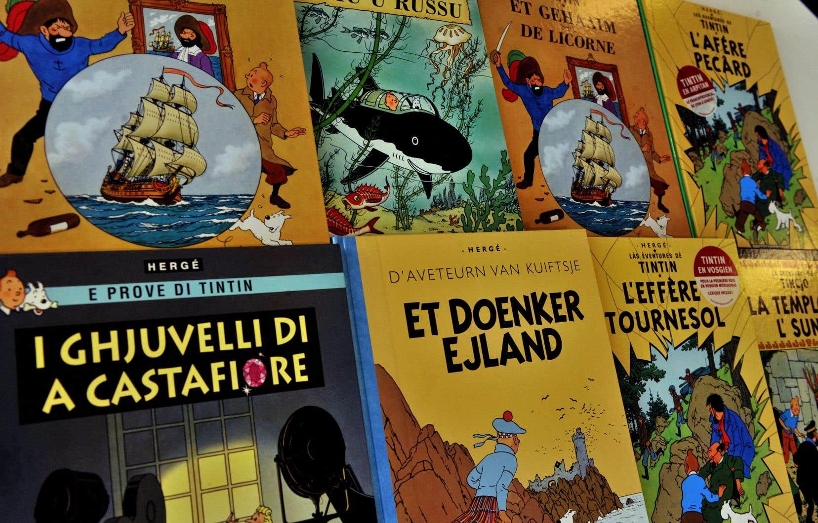 La société Moulinsart poursuivait pour contrefaçon et atteinte au droit moral d'Hergé le peintre français Xavier Marabout.
