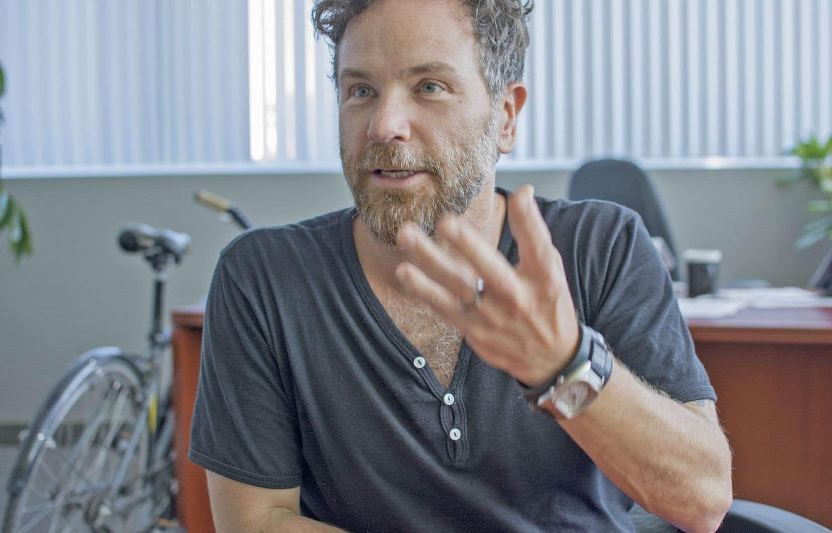 François Croteau en 2016