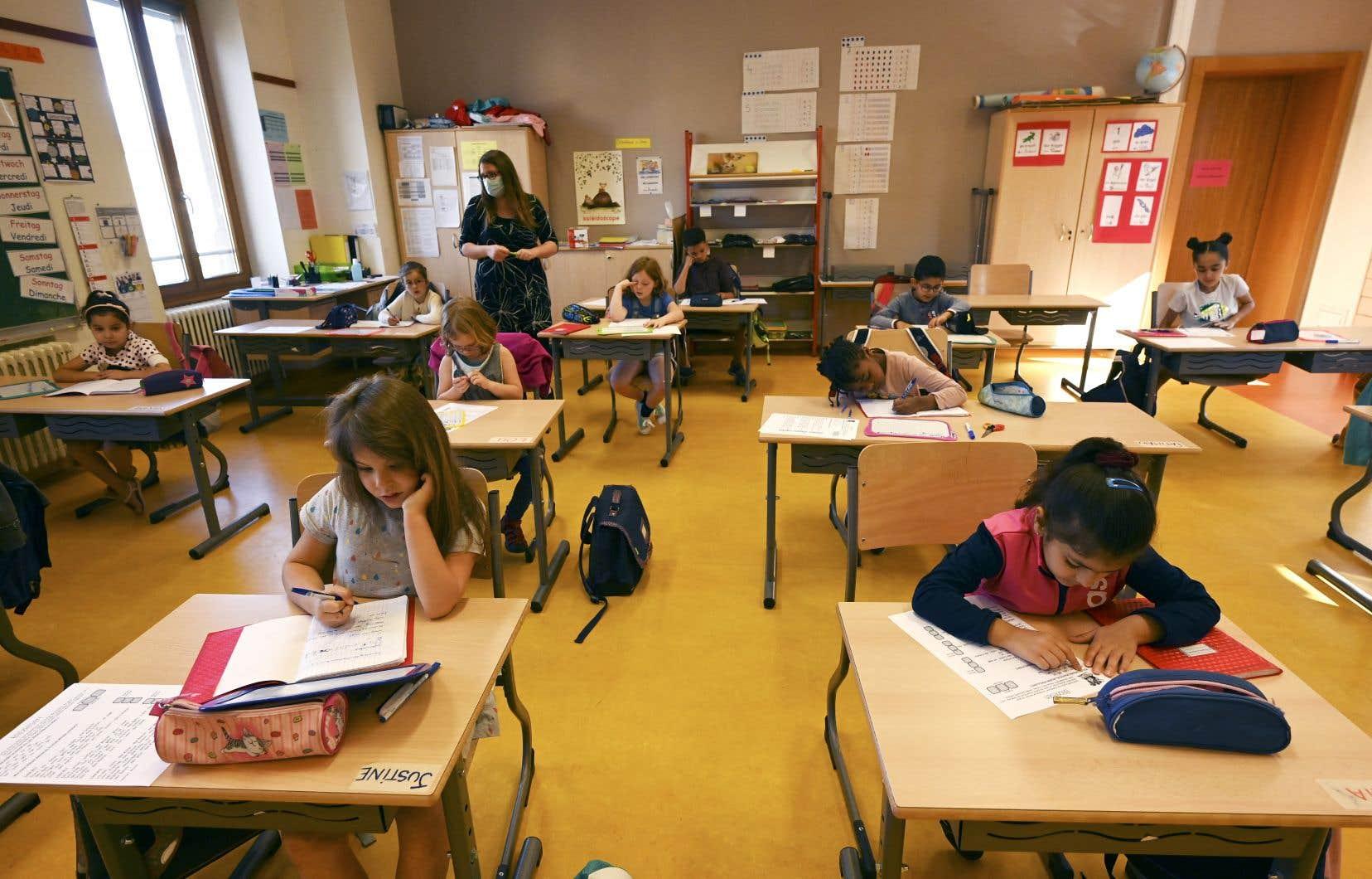 L'«écriture inclusive» interdite à l'école