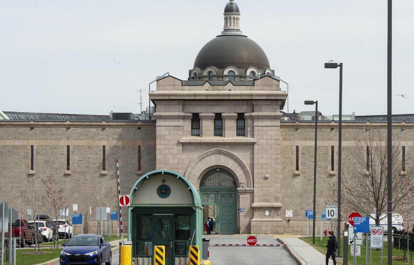 Selon le ministère de la Sécurité publique, il y a eu 268 cas de COVID-19 à l'Établissement de détention de Montréal (Bordeaux) depuis le début de la pandémie.