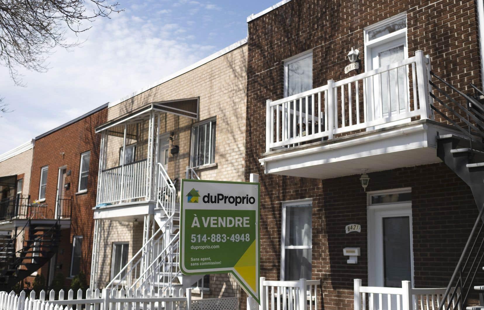 Montréal, mais aussi tout le Québec, est frappé par une surchauffe immobilière depuis quelques mois.