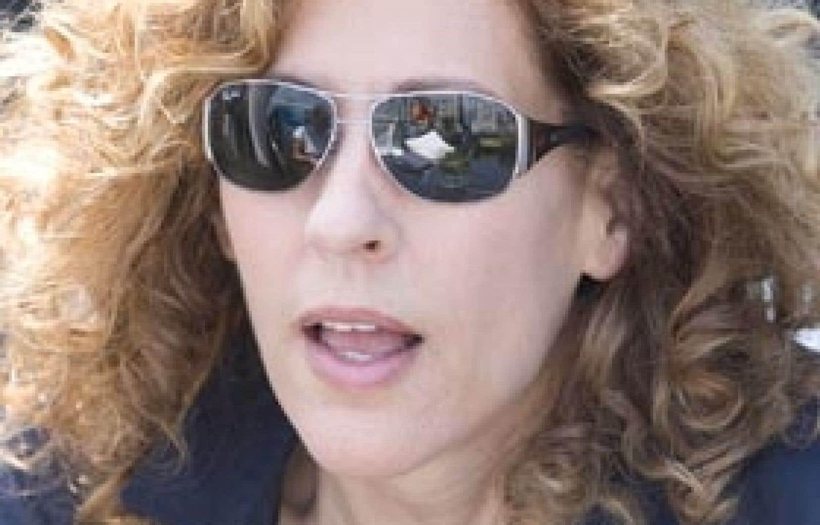 La réalisatrice Sophie Lorain