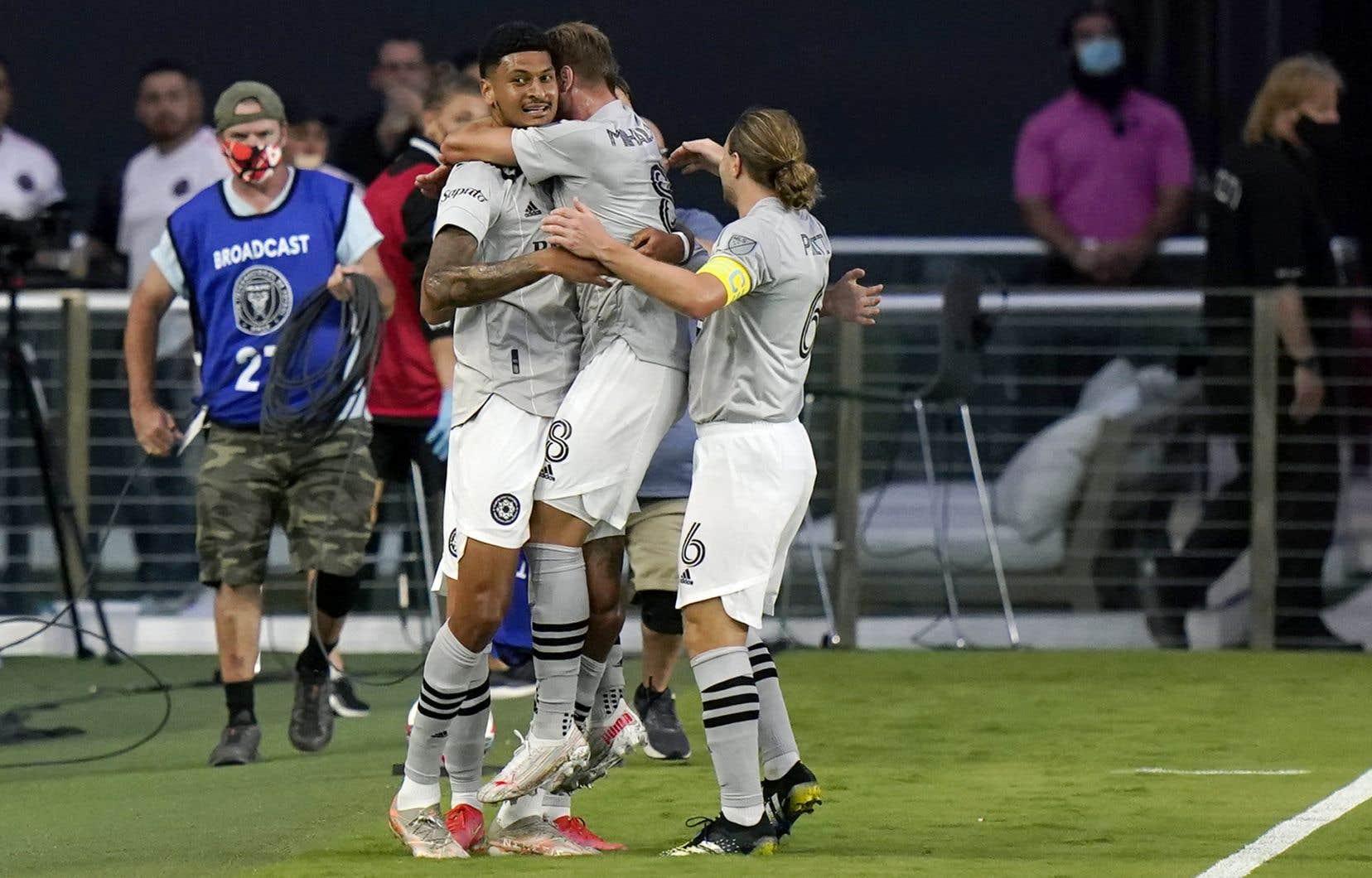 Les hommes de Wilfried Nancy se sont hissés au premier rang du classement de l'Association Est avec un gain de 2-0 contre l'Inter Miami CF, mercredi soir.