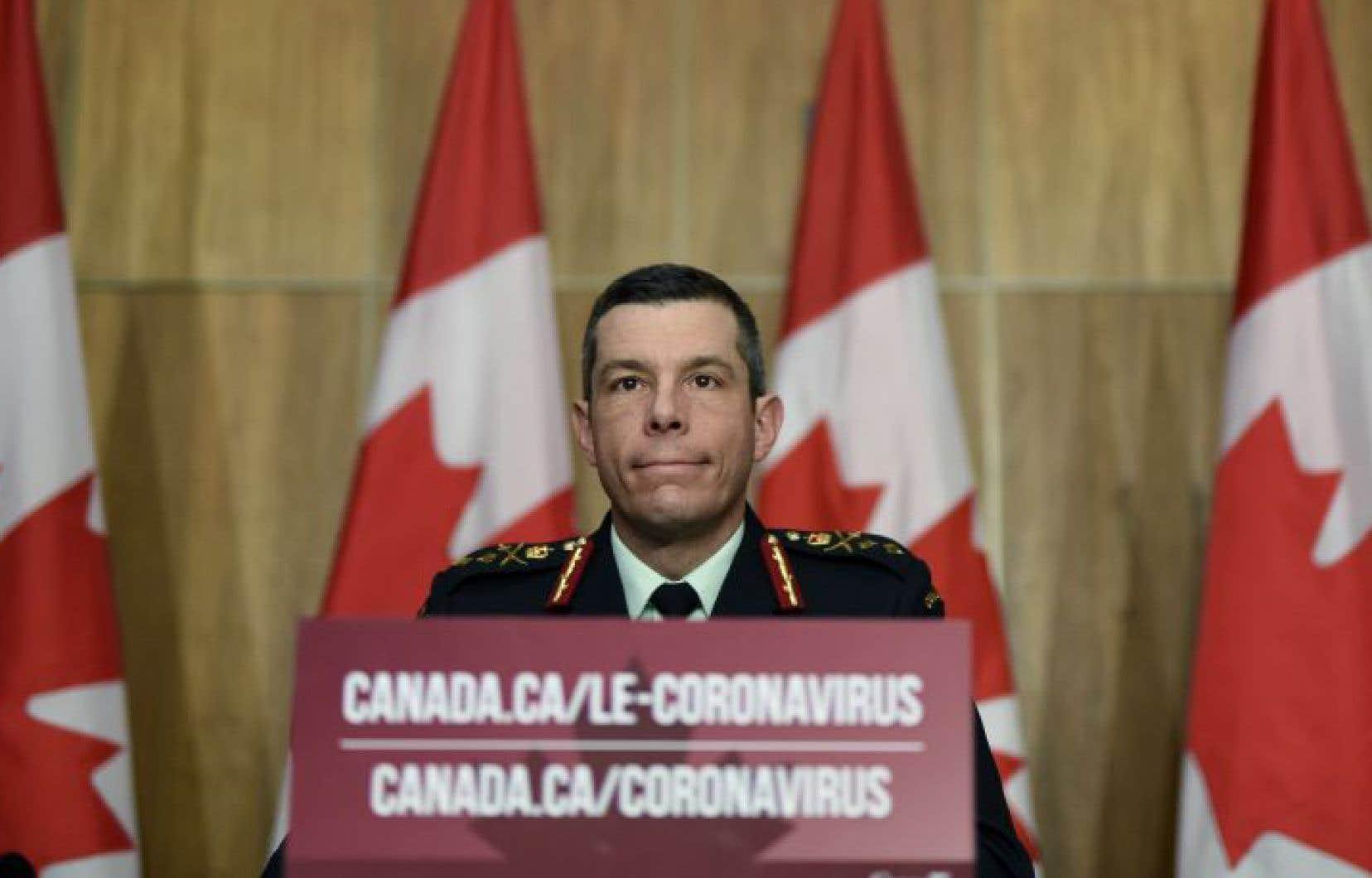 Le major général Dany Fortin était responsable de la campagne de vaccination contre la COVID-19 au Canada.