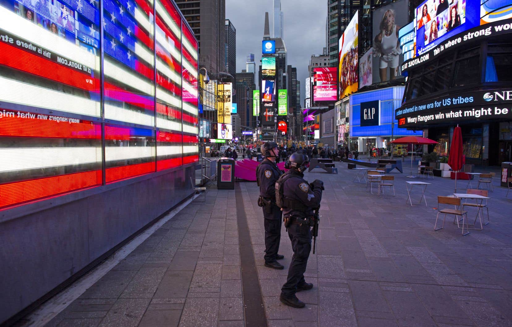 New York a beau sortir progressivement de la crise sanitaire, et le chômage baisser, les statistiques ne s'améliorent pas. Les dernières, arrêtées au 9mai, font état de 505 victimes de fusillade depuis début janvier.