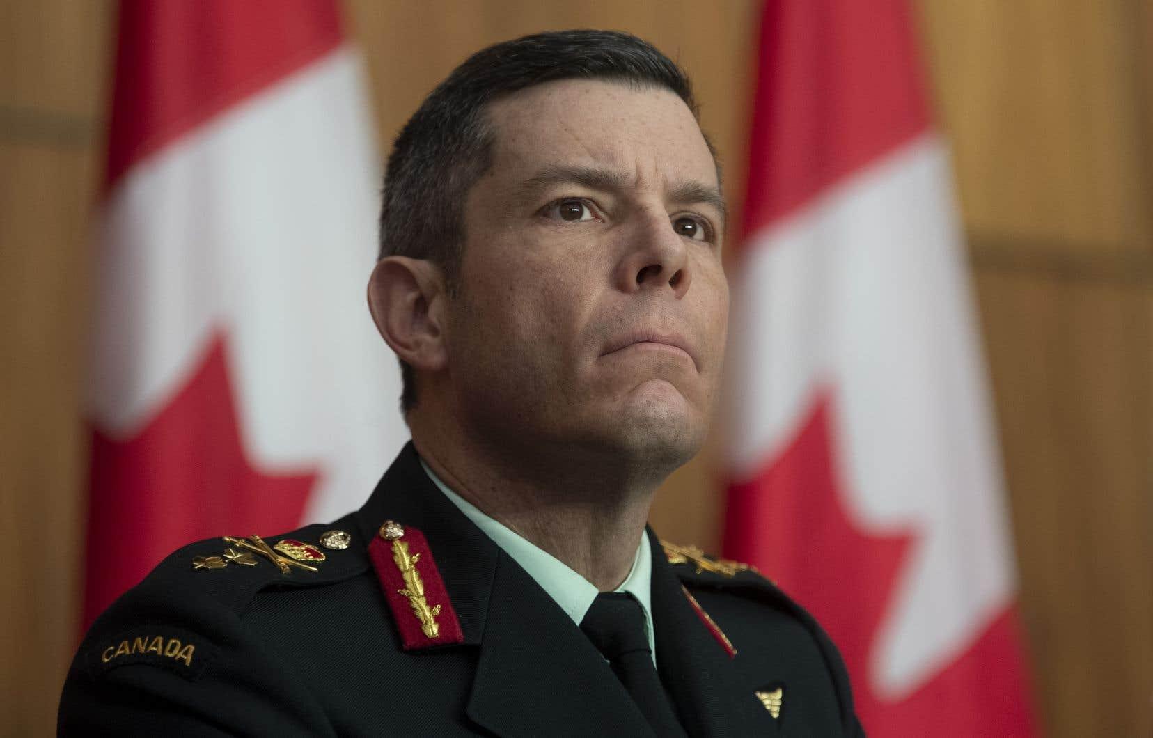 Le major général Dany Fortin supervisait le déploiement des vaccins contre la COVID-19 au Canada.