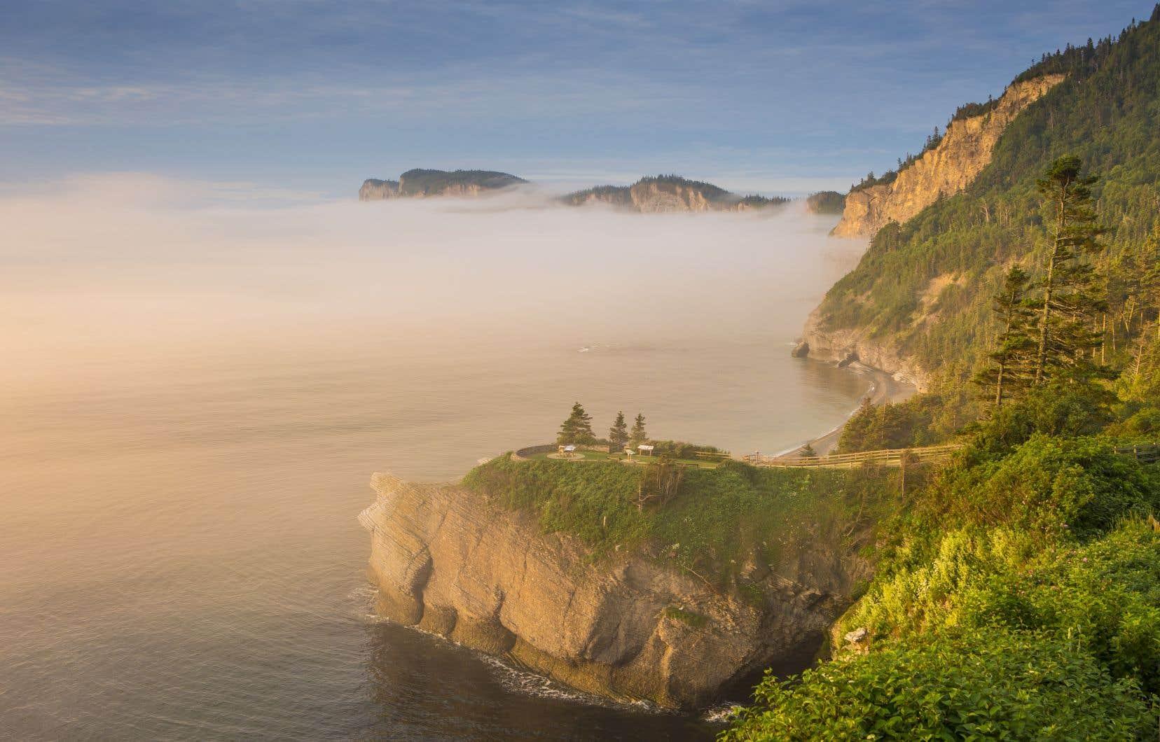 Le parc national Forillon, situé dans la région de la Gaspésie
