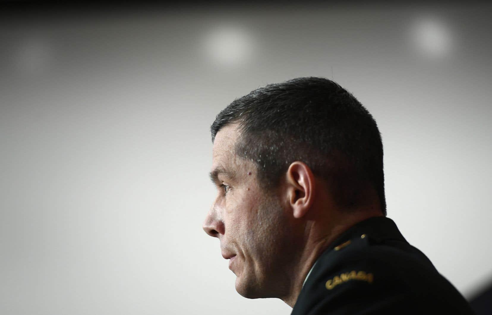 Le Service national des enquêtes des Forces canadiennes confirmeque l'enquête porte sur une allégation d'inconduite sexuelle contre le major général Dany Fortin.