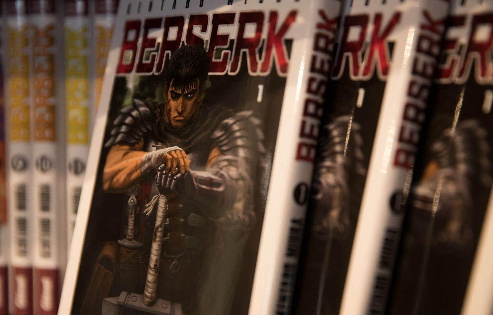 Avec sa violence graphique et son dessin très détaillé, Berserk a fortement influencé d'autres productions culturelles, comme les séries de jeux vidéo japonais Souls.