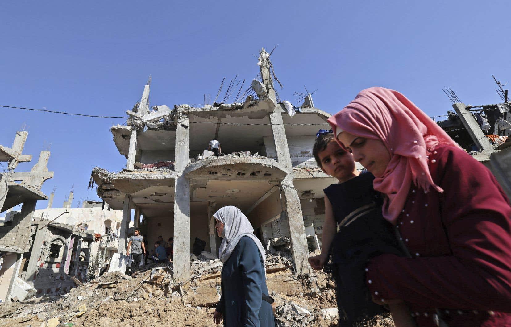 La trêve n'a pas empêché l'éclatement de nouveaux affrontements entre fidèles palestiniens et policiers israéliens sur l'esplanade des Mosquées.