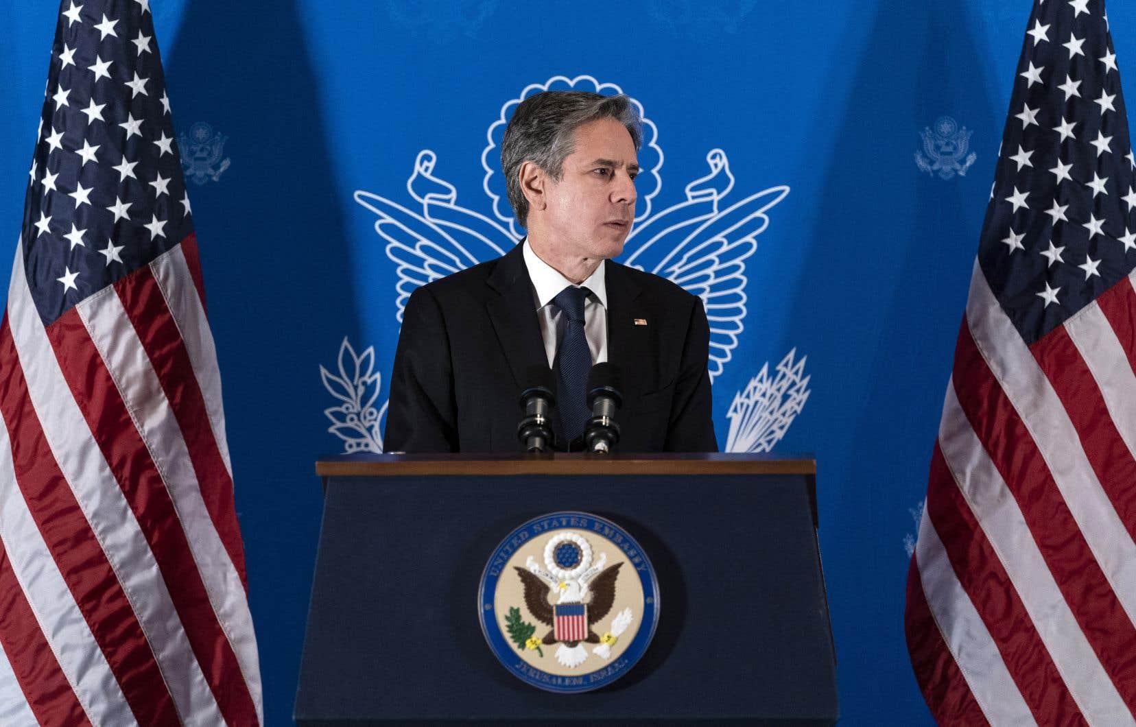 Le chef de la diplomatie américaine,Antony Blinken, a entamé mardi une tournée au Proche-Orient dans l'espoir de consolider la trêve fragile à Gaza.