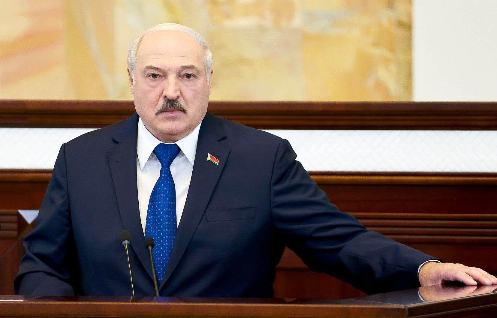 Mercredi, le président biolérusse Alexandre Loukachenko a pris la parole pour la première fois depuis l'interception, dimanche, d'un vol Athènes-Vilnius de la compagnie Ryanair, sous prétexte d'une alerte à la bombe.