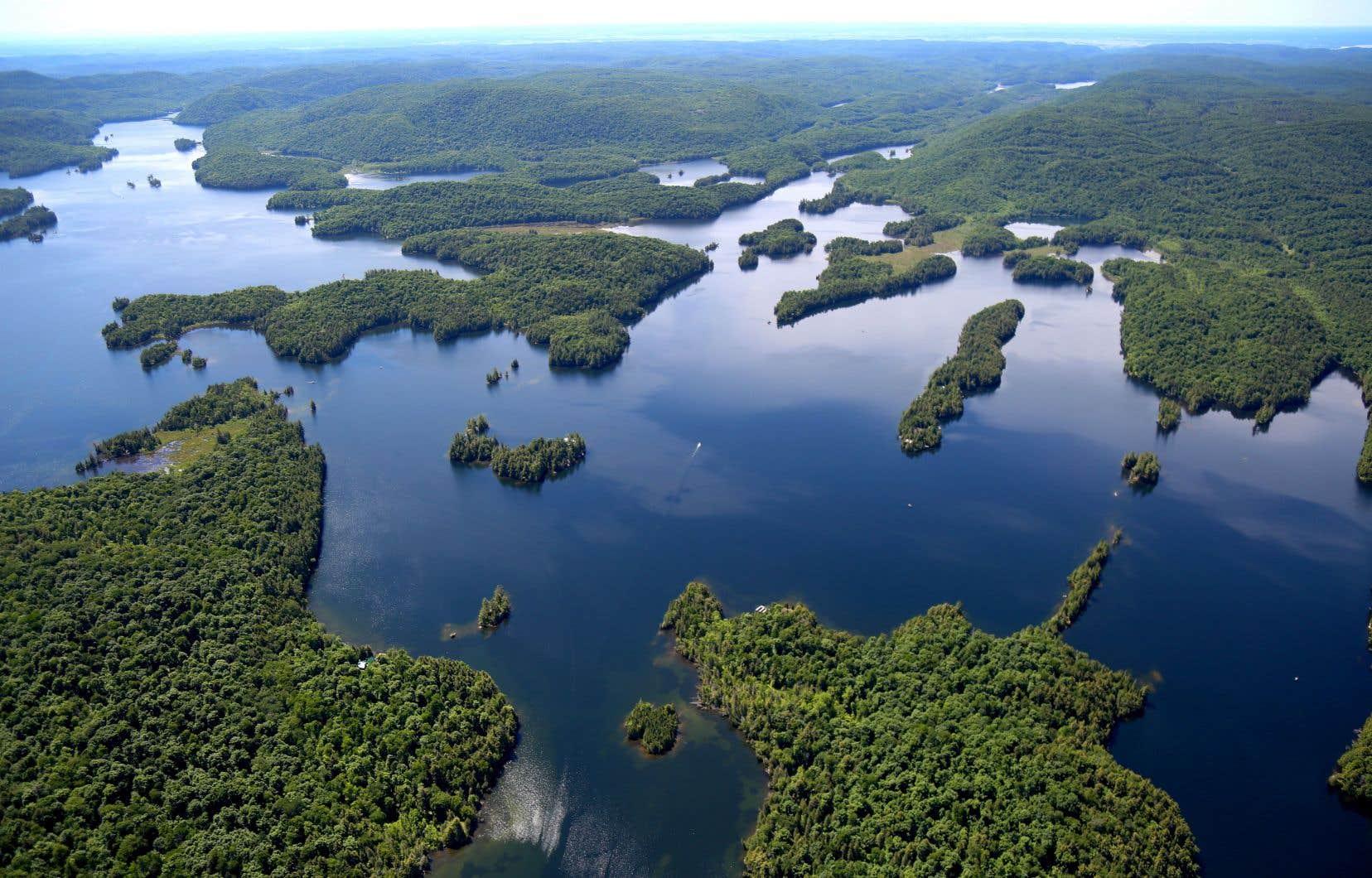 La réserve naturelle de Kenauk Nature, le «petit frère plus rustique du Château Montebello»