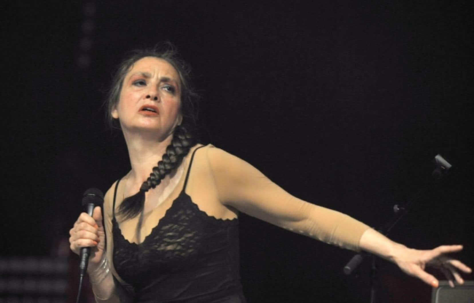Catherine Ringer s'emparera de la scène du Métropolis, le 14 juin.<br />