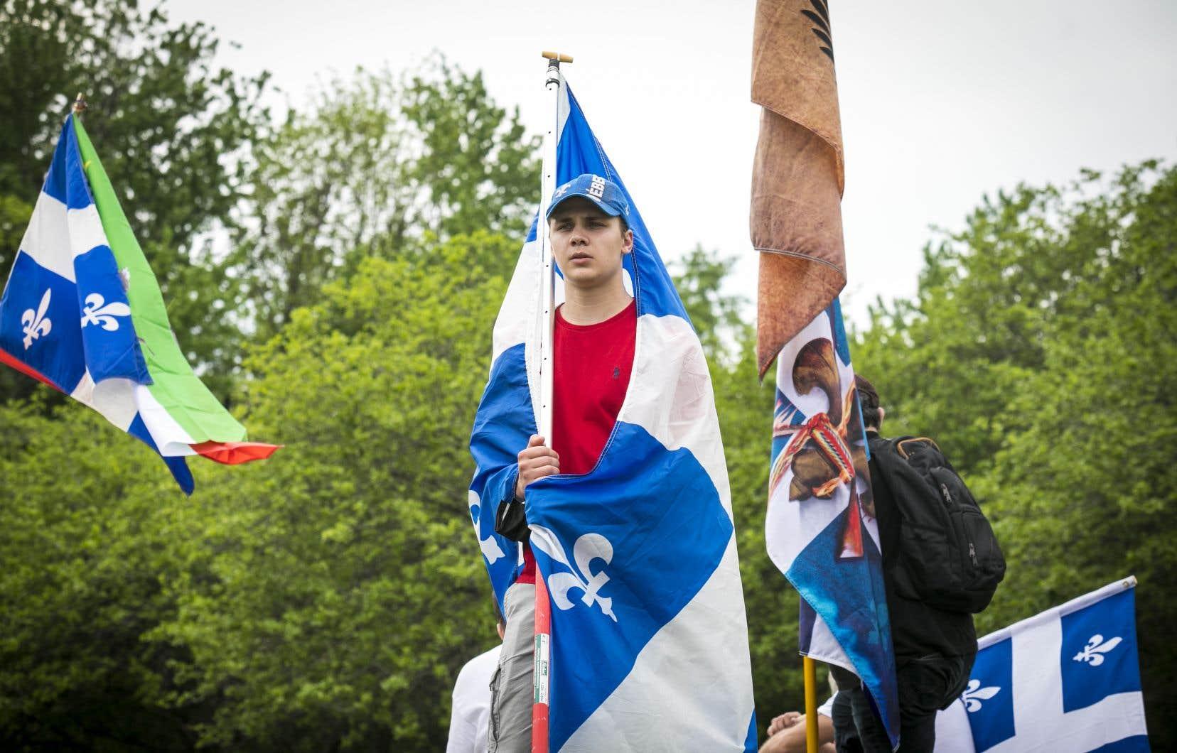 Près de 80% des francophones sont «tout à fait» ou «plutôt» d'accord avec l'idée de voir le Québec se définir comme une nation dans la Constitution canadienne, selonun sondage Léger.