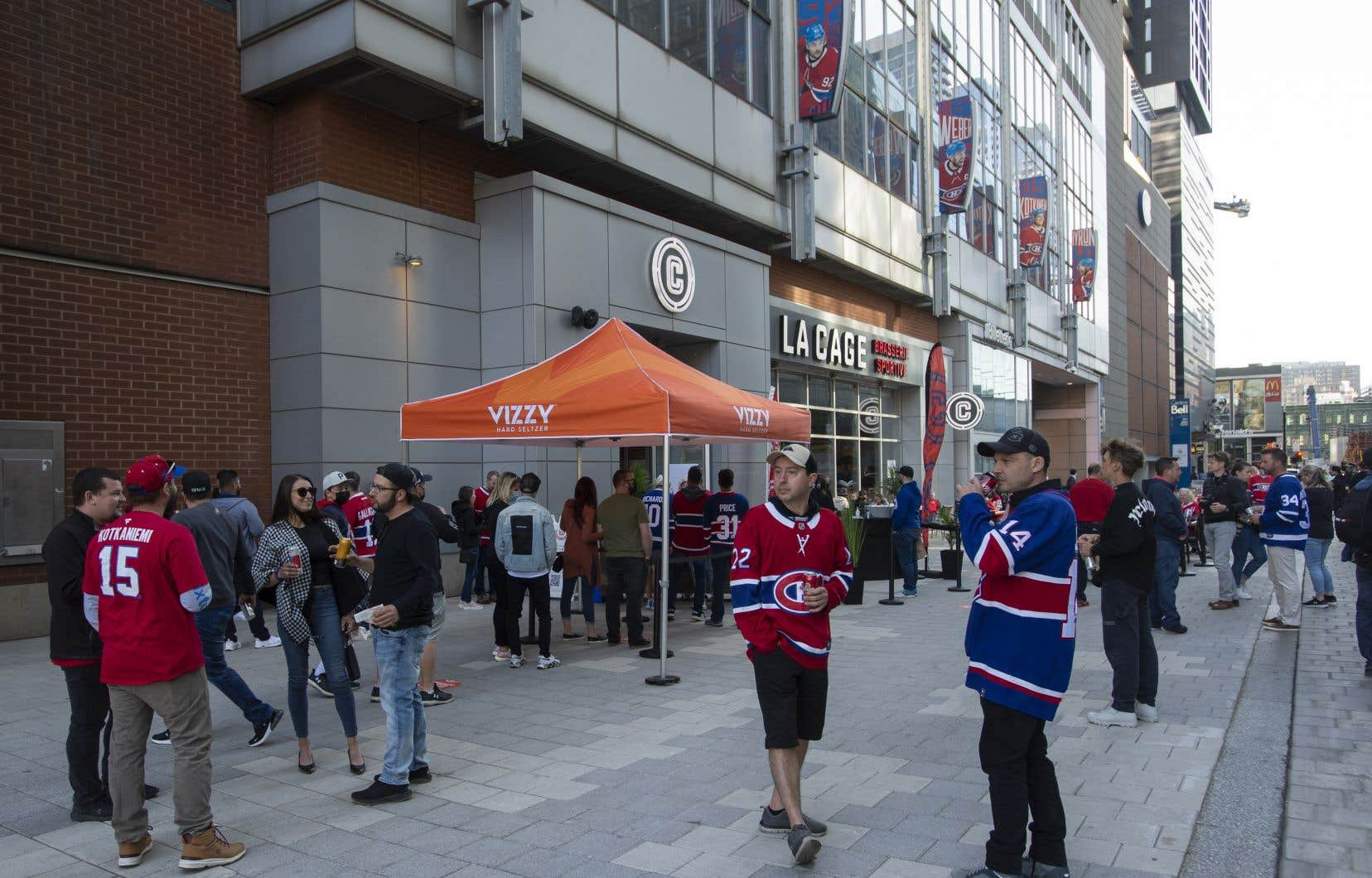 Au Centre Bell, le Canadien de Montréal a obtenu la victoire contre les Maple Leafs, forçant la tenue d'un septième match en séries éliminatoires.
