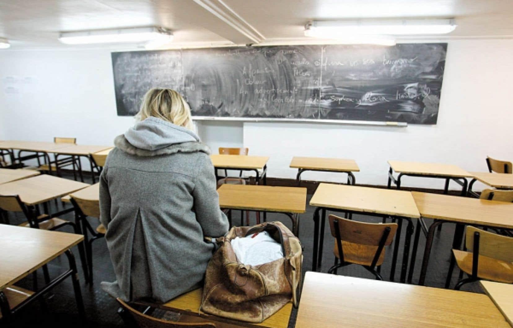 Pour accueillir les étudiants de la réforme, les enseignants doivent maintenant développer une pédagogie universelle de la première session au cégep.