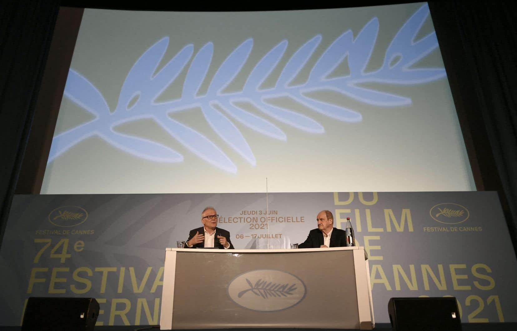 Jeudi à Paris, Thierry Frémaux le délégué général du festival et Pierre Lescure, son président dévoilaient la liste des élus.
