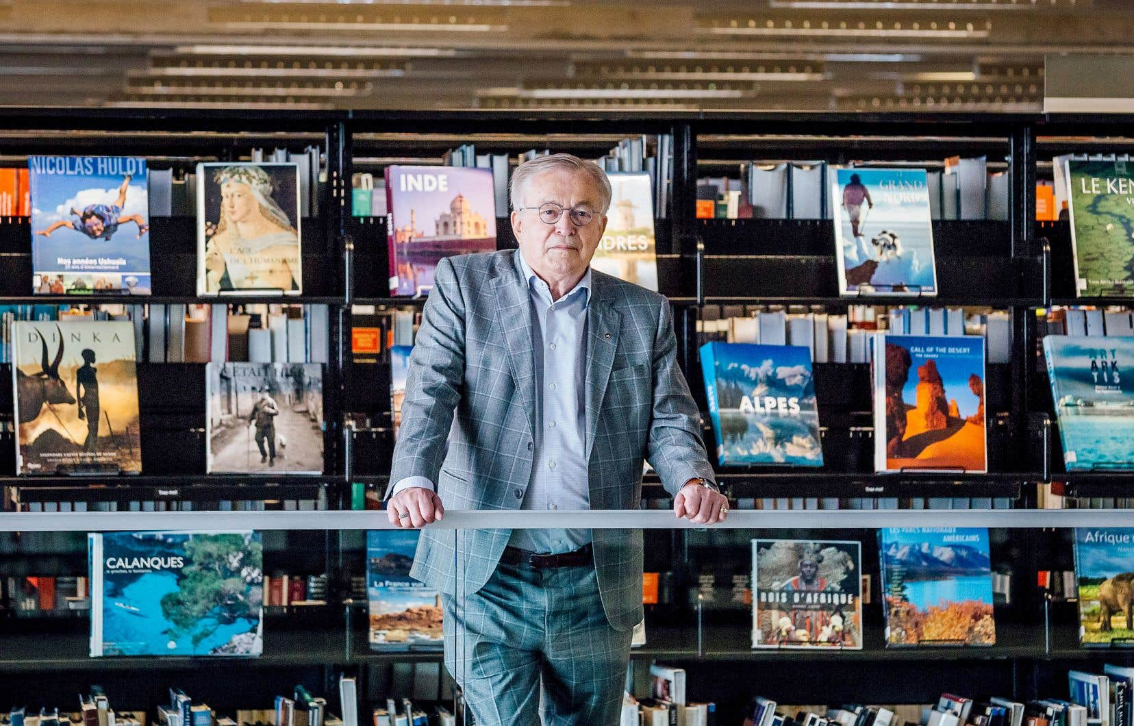 Jean-Louis Roy signe son premier roman, «Shanghai 2040»