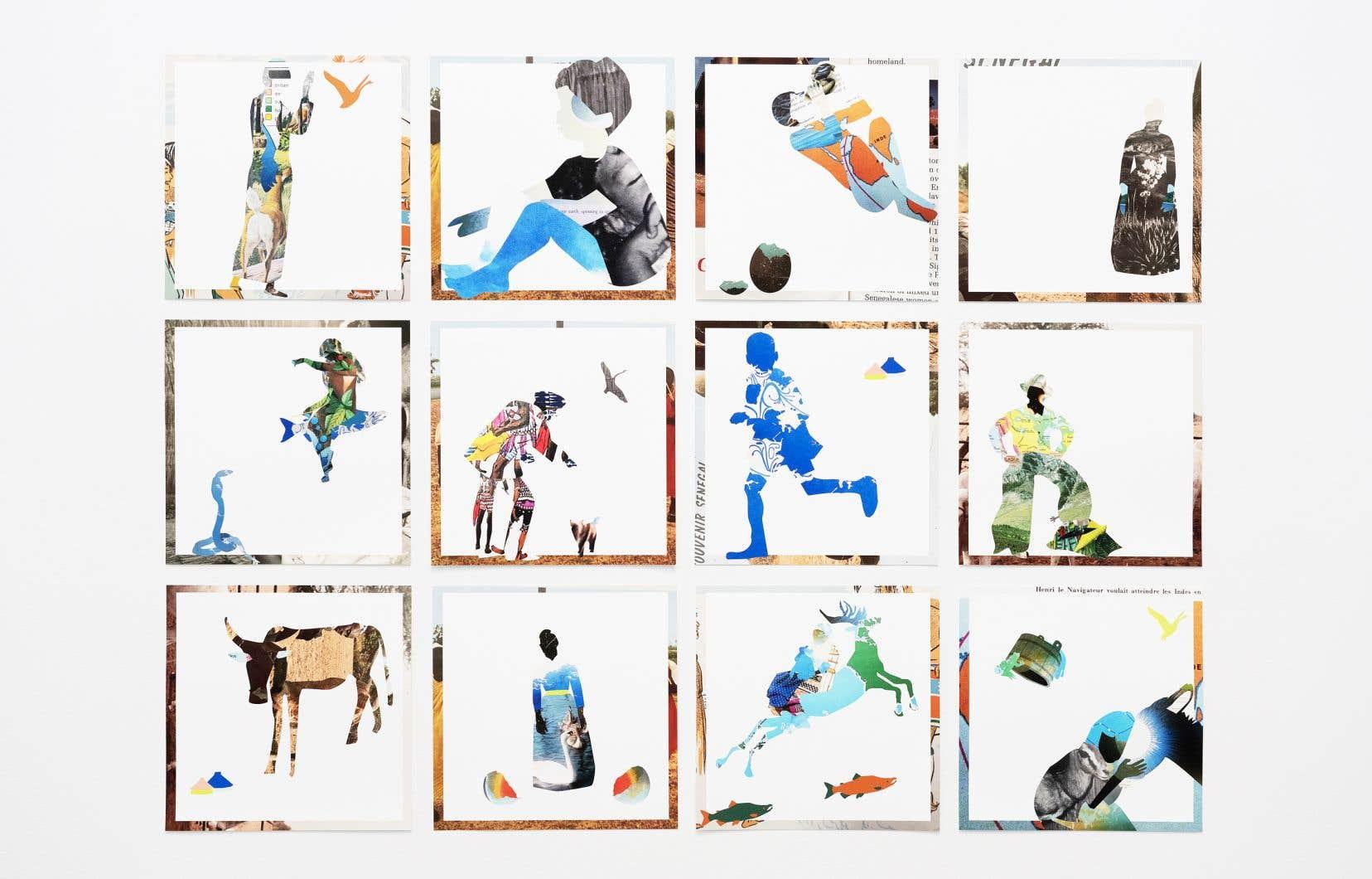 Anna Binta Diallo, «Voyageur/Almanach», 2021