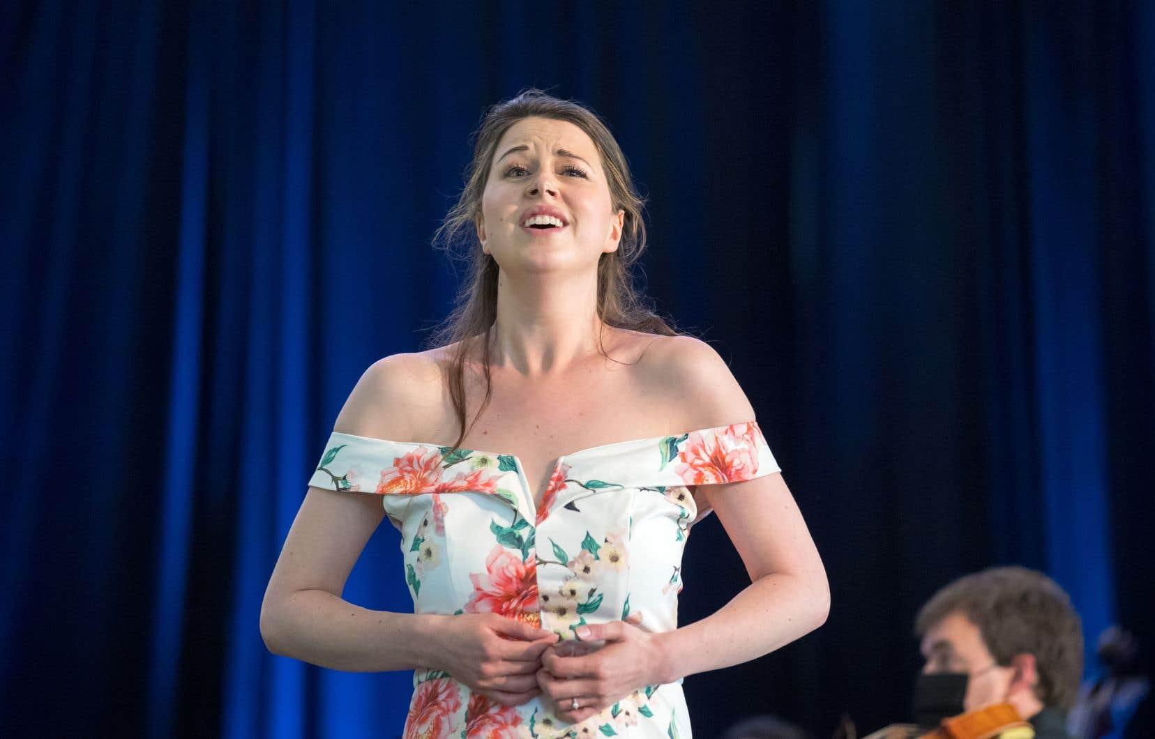 La soliste Anna-Sophie Neher