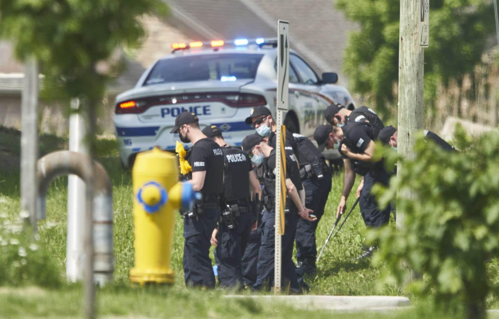 La police de London croit que les cinq membres de la même famille qui ont été frappés par un véhicule ont été ciblés parce qu'ils étaient musulmans.