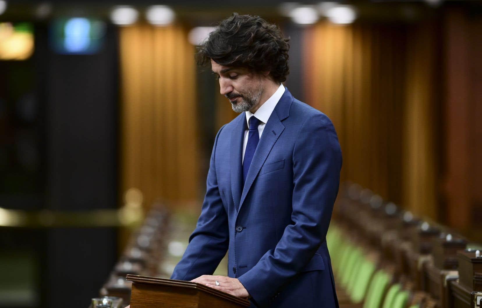 Le premier ministre Justin Trudeau s'est dit «horrifié» par cette attaque «lâche et islamophobe».