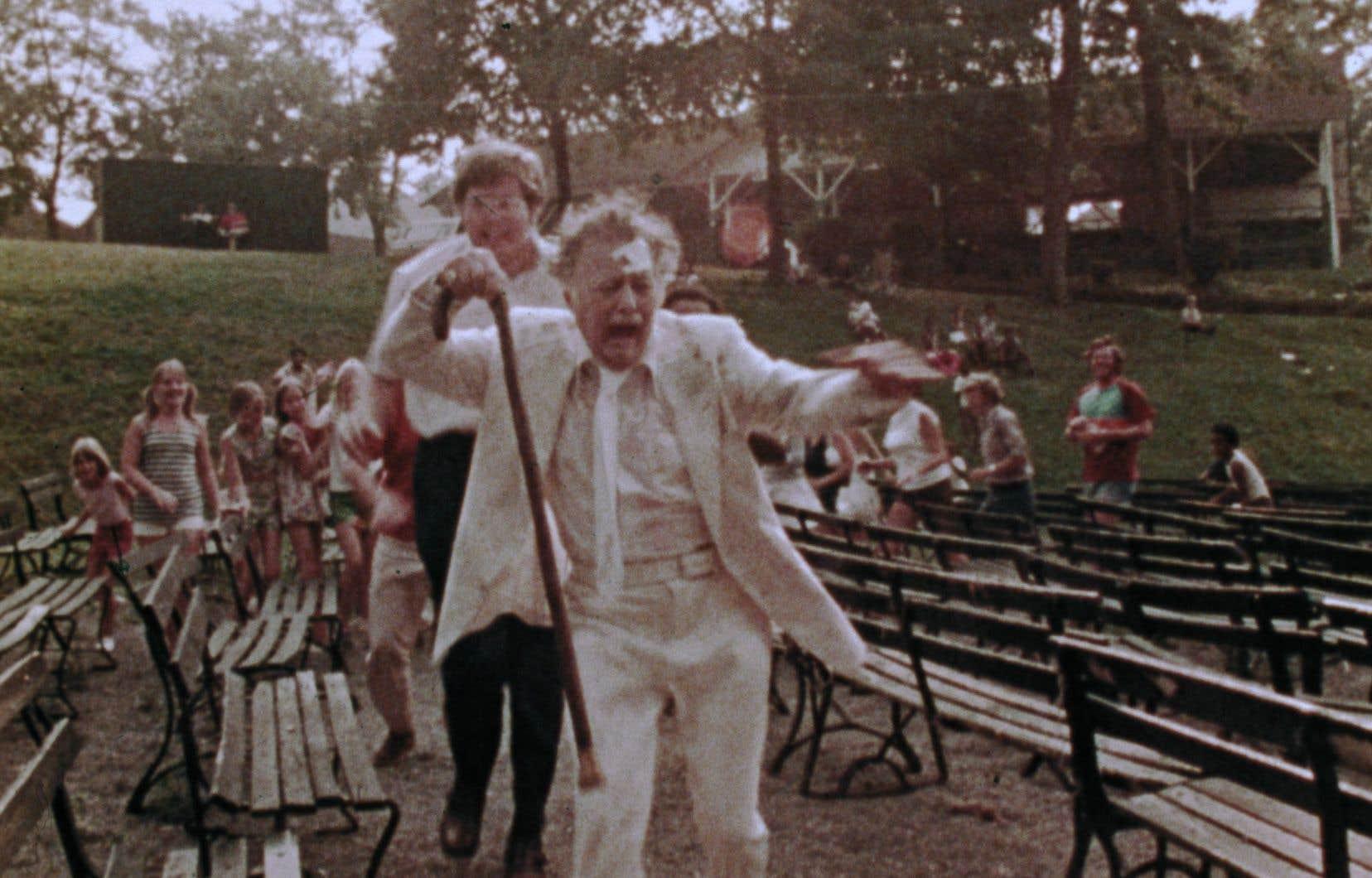 Lincoln Maazel dans le film «Amusement Park» sur la maltraitance enversles aînés