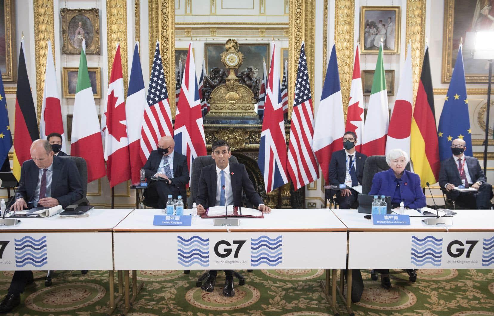 Après des années de négociations infructueuses, les États du G7 ont approuvé samedi à Londres une réforme qui semblait encore une vue de l'esprit jusqu'à tout récemment.