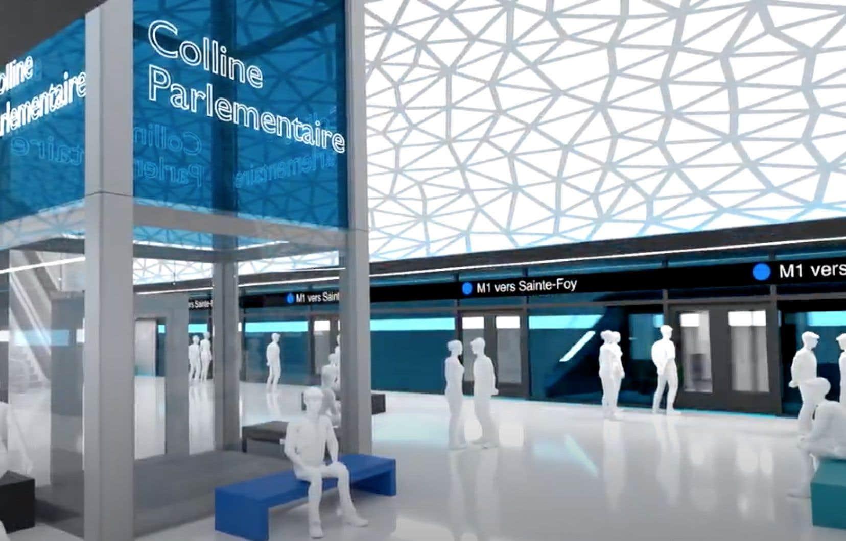 Le parti Québec 21 propose un autre projet de transport souterrain électrique à Québec