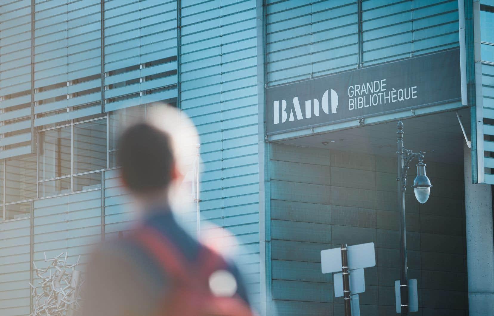 Le fait que certaines candidatures pour diriger BAnQ partiraient avec une longueur d'avance au sein du gouvernement de François Legault perturbe les signataires d'une lettre ouverte.