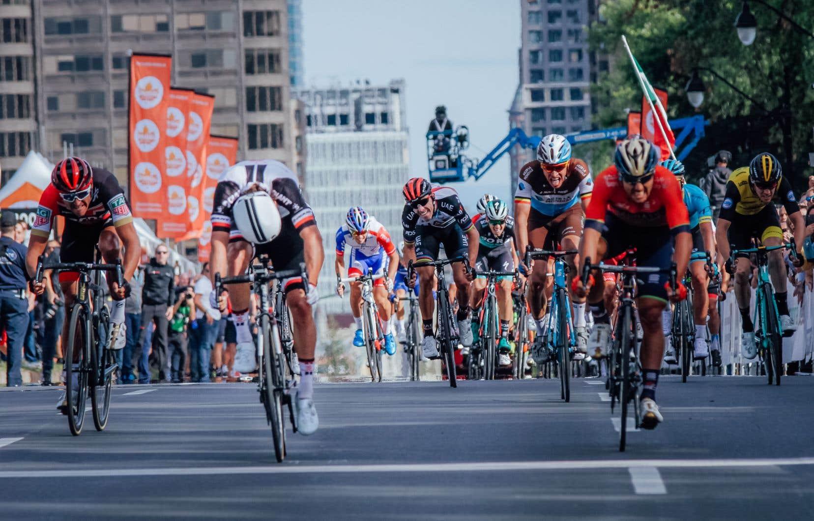 Le Grand prix cycliste de Montréal en 2018