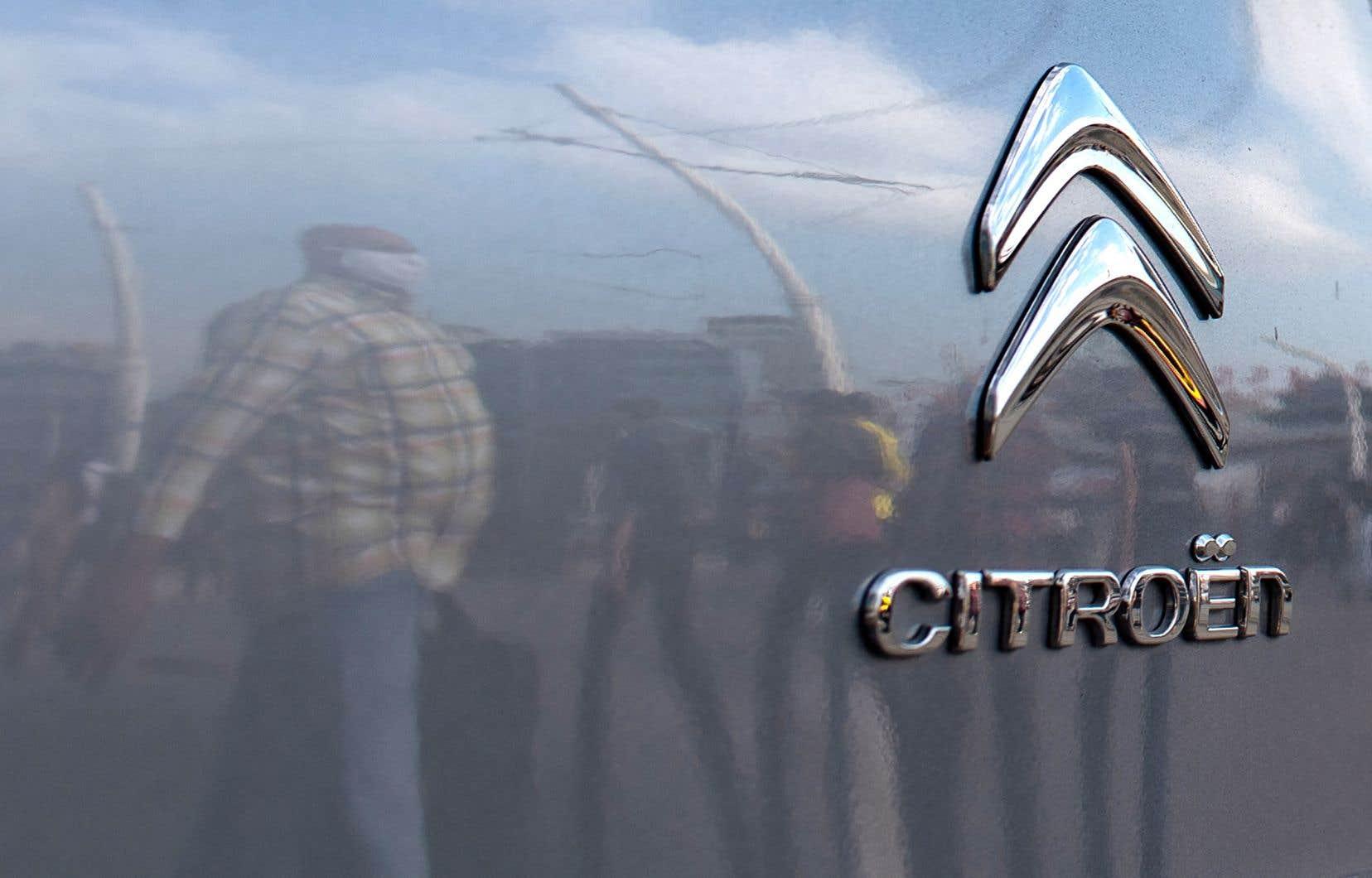 Citroën a été astreint au versement d'un «cautionnement» de 8millions d'euros, dont 6millions pour l'éventuel paiement des dommages et des amendes.
