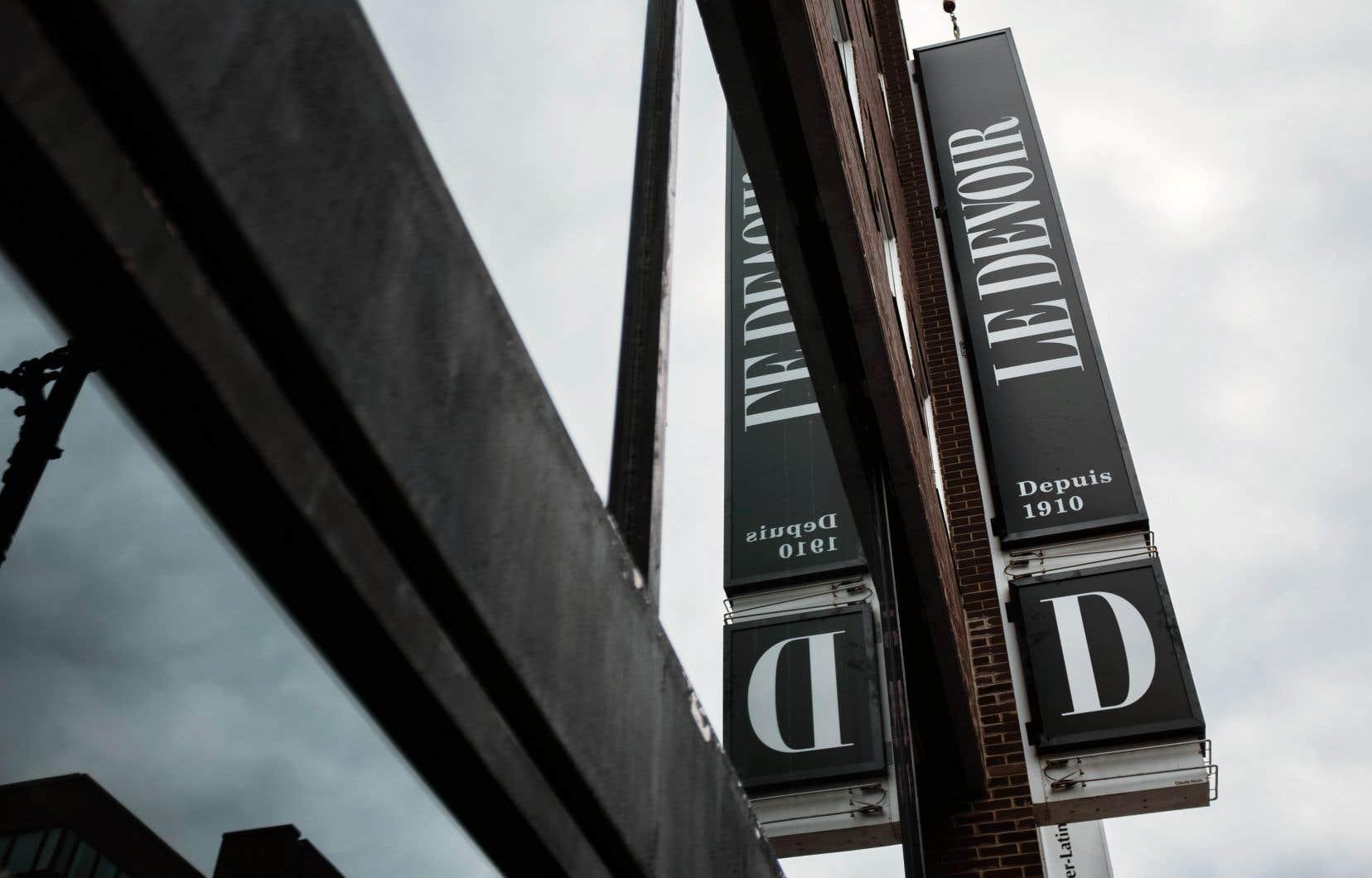 «Le Devoir» était cinq fois en nomination aux Prix d'excellence en publication numérique cette année.
